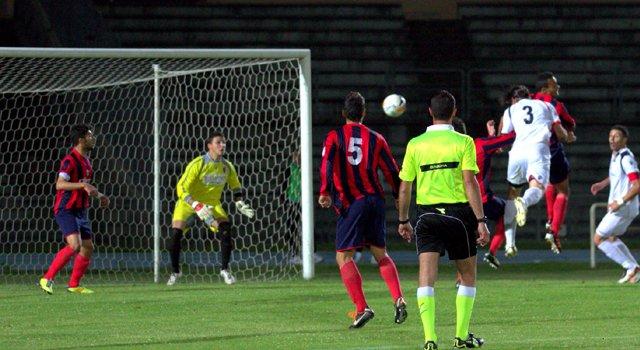 sicignano incorna gol 1-0 vibonese