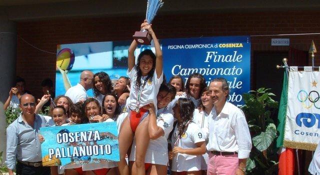 Pallanuoto: finali scudetto under 19 a Cosenza dal 10 al 13 luglio