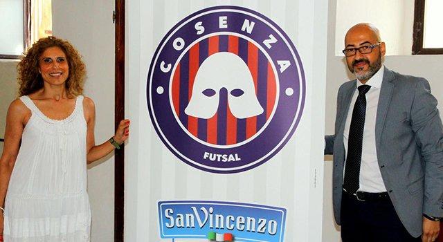 """Bria: """"Il San Vincenzo Cosenza Futsal ballerà la samba. L'elmo sarà il nostro simbolo"""""""