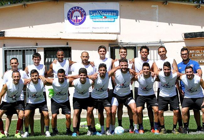 San Vincenzo Cosenza Futsal: c'è attesa per l'amichevole di domani