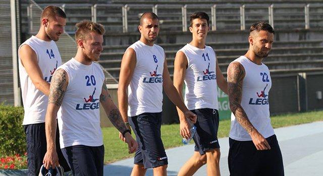 gruppetto calciatori