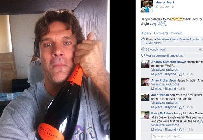 Social…izzando. Happy birthday Mr. Negri con la zucca di Tedeschi