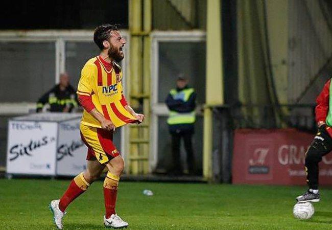 """Il Benevento teme Arrighini. Pezzi: """"Attenti ad uno come lui"""""""