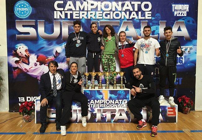 Kickboxing, il Cobra Team Cosenza conquista sei primi posti