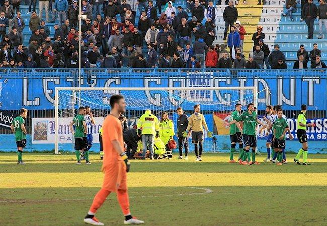 L'Akragas con Zibert punisce oltremodo il Cosenza (1-0)