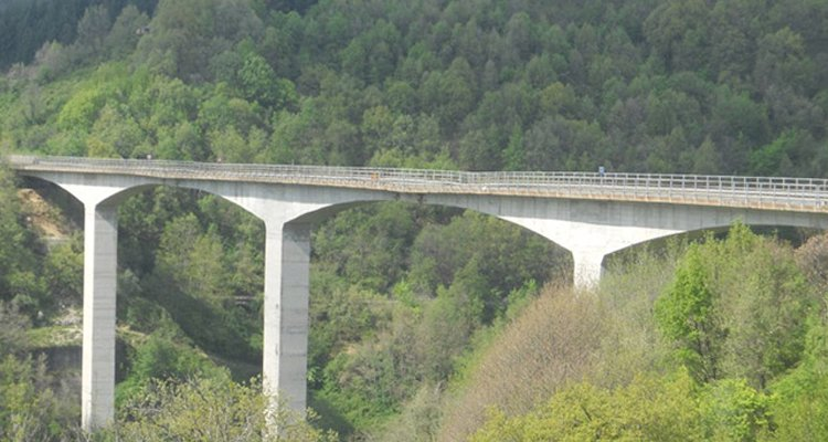 Ponte Celico lavori Anas sindaco Falcone