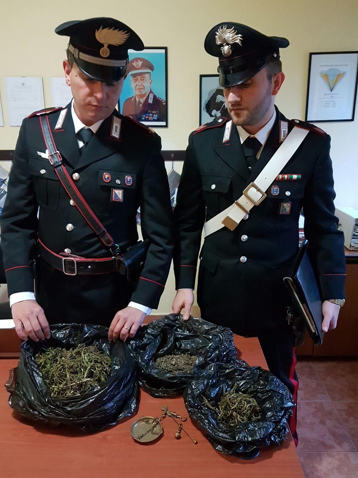 Camigliatello Silano, sorvegliato speciale arrestato per spaccio di droga