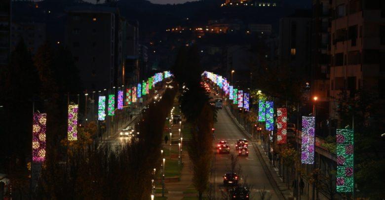 luminarie a Cosenza