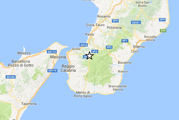 Terremoto a Reggio Calabria