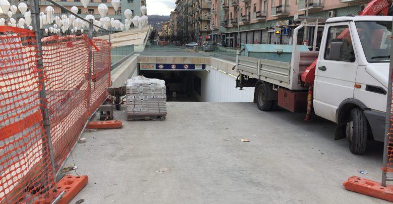 piazza Bilotti, i lavori continuano