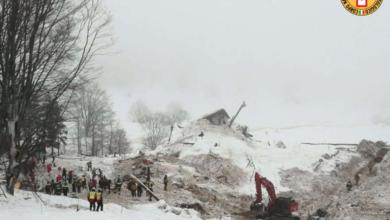 Photo of Valanga sull'hotel Rigopiano, trovati morti gli ultimi dispersi: c'è anche Tobia Foresta