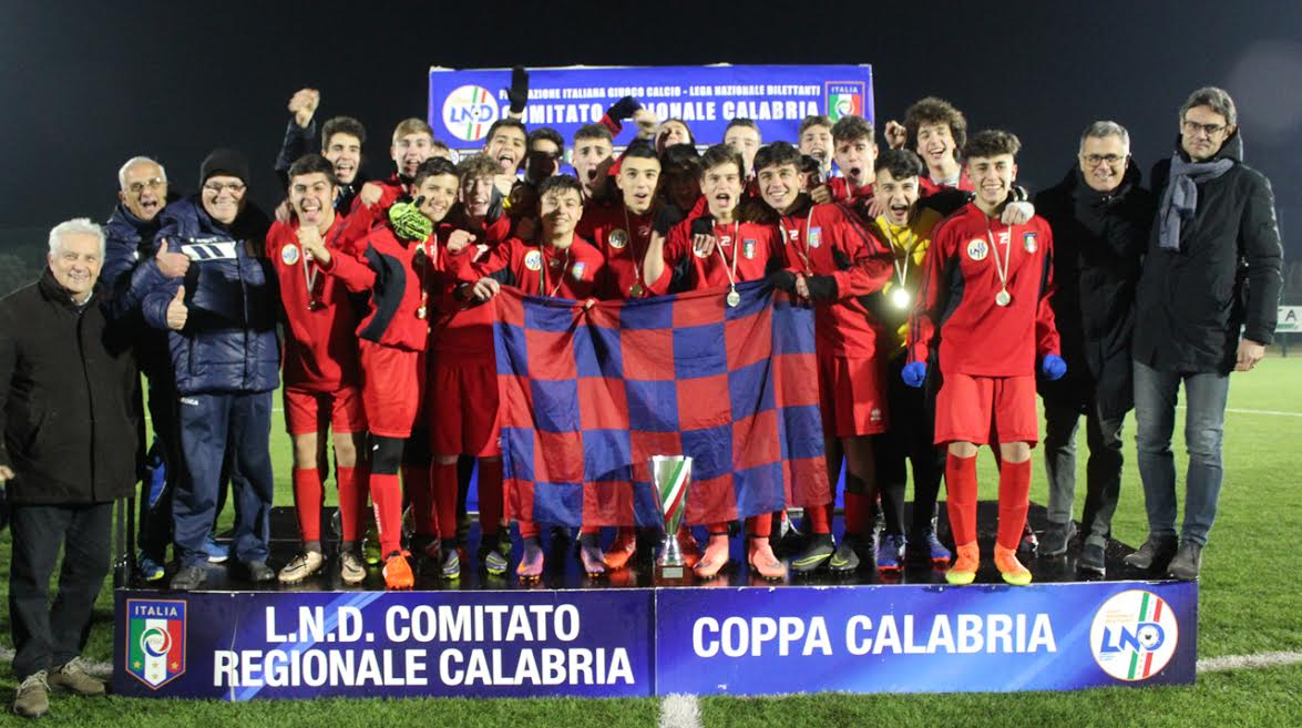 Coppa Calabria per Rappresentative: nei Giovanissimi trionfa Cosenza