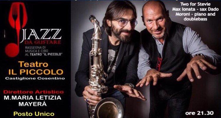 """""""Two for Stevie"""", Dado Moroni e Max Ionata In concerto a Castiglione"""
