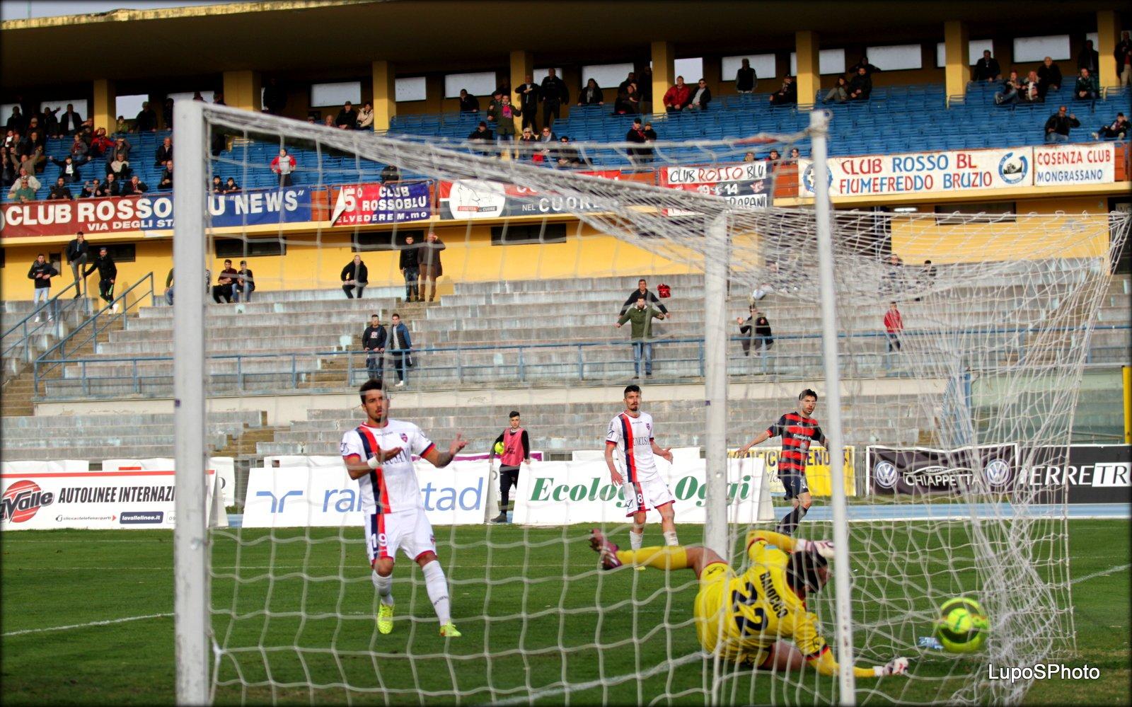 Cosenza-Fondi 2-2: il video dei gol di Sportube