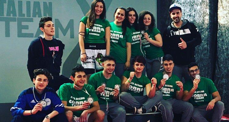 Cobra Team sul podio a Velletri in occasione dell'internazionale X3