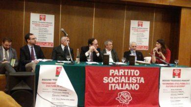 Photo of I Socialisti guardano al futuro: «Pronti a lavorare per riformare l'Italia e i territori»