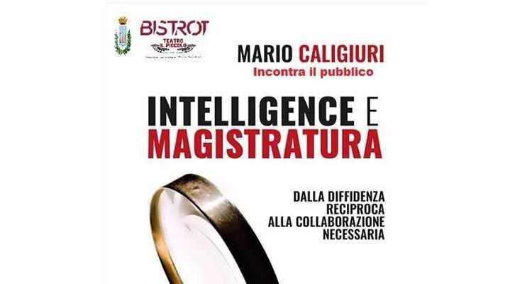 """""""Intelligence e magistratura"""" è l'ultimo libro di Mario Caligiuri"""