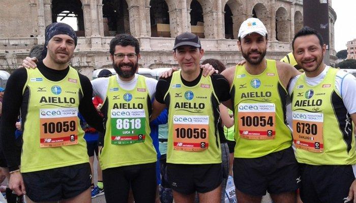 Cosenza K42, in quattro completano la maratona di Roma