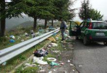 abbandono di rifiuti Spezzano Sila