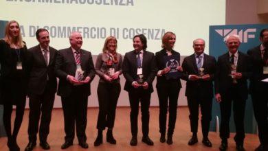 """Photo of Premio """"Olivetti"""" al presidente della Camera di Commercio di Cosenza Klaus Algieri"""