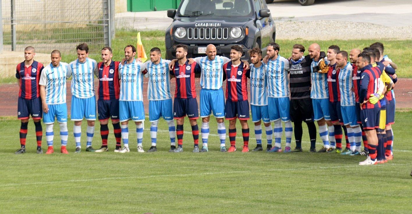 Rossanese-Corigliano 0-4: le immagini del derby stravinto dai bianco-azzurri  VIDEO 