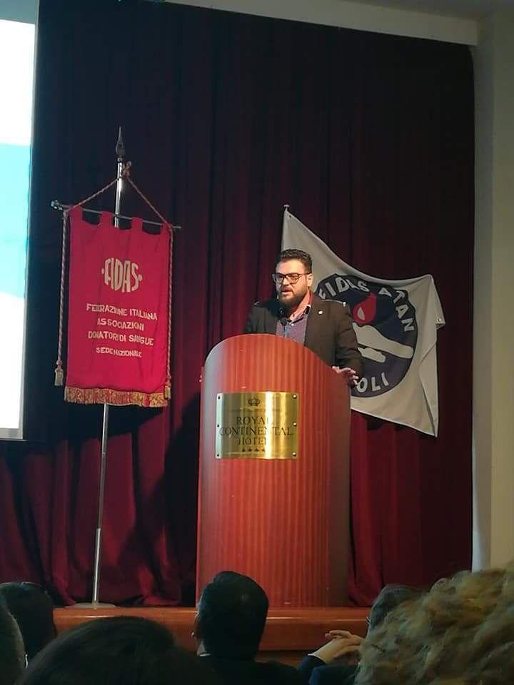 Fidas Calabria al congresso nazionale dei donatori di sangue, l'intervento del presidente Parise