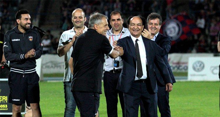 Guarascio: «Braglia, resta al Cosenza». Presto l'incontro tra i due