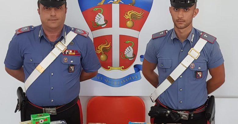 Scala Coeli, arsenale di munizioni da caccia in casa: denunciati dai carabinieri