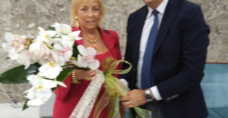 Il prefetto Galeone con il sindaco di Cosenza Mario Occhiuto