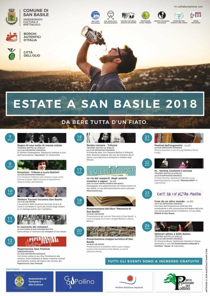 San Basile, ospite d'onore Stefano Tacconi