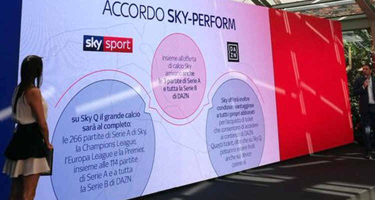 Dazn Si Accorda Con Sky Ma Serve La Connessione A Internet Cosenzachannel It