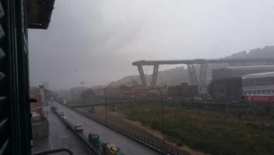Photo of Italia sotto shock, crolla ponte A10 di Genova: decine di vittime [FOTO-VIDEO-TWEET]