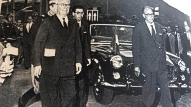 """Photo of Genova, ponte """"Morandi"""" crollato: fu inaugurato da Saragat e Mancini"""