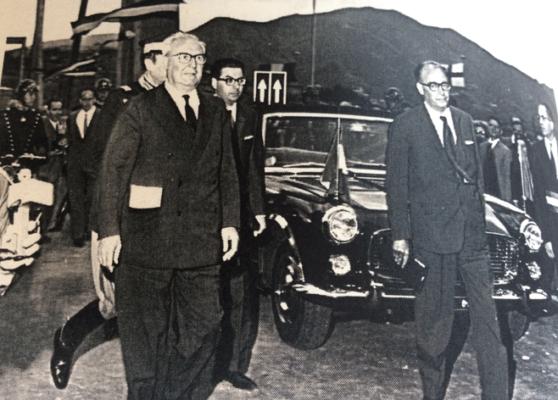 """Genova, ponte """"Morandi"""" crollato: fu inaugurato da Saragat e Mancini"""