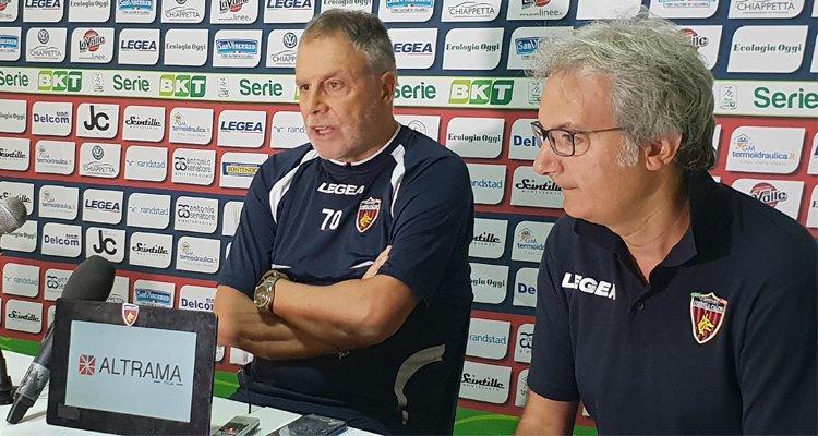 Braglia: «Al Cosenza nessuno ha il posto sicuro. Ascoli squadra forte»