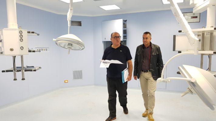 """Castrovillari, ospedale """"Ferrari"""": visita ispettiva di Guccione [FOTO]"""