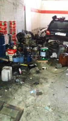 Meccanico smaltiva irregolarmente rifiuti speciali prodotti: denunciato
