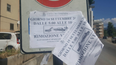 Photo of Cosenza, la rabbia dei residenti in via Aldo Moro: «Rimozione illecita»