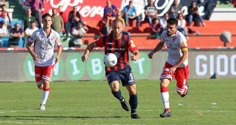 Cosenza-Perugia 1-1: il tabellino