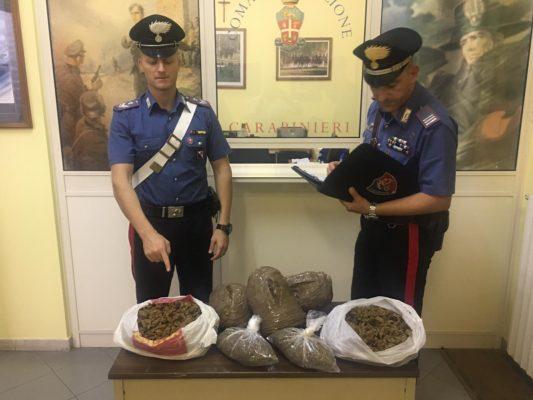 Rocca Imperiale, tre donne arrestate con circa 5 chili di marijuana