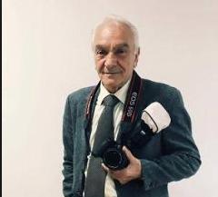 Cosenza piange la scomparsa dello storico fotografo Raf Caputo