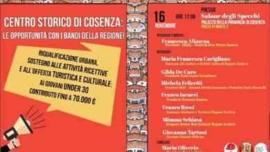 Photo of Cosenza, i bandi regionali per far rinascere il centro storico