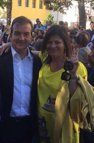 Jole Santelli vicepresidente della commissione antimafia (con Morra)