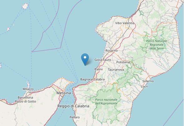 Trema due volte la Calabria Sud-occidentale: epicentro Palmi