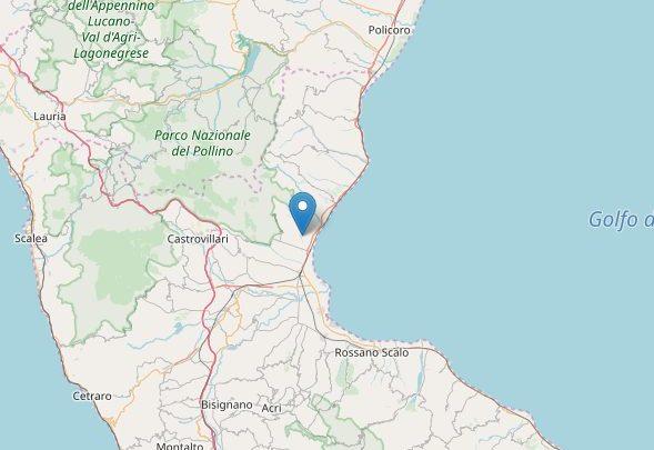 Nuova scossa di terremoto in Calabria, stavolta trema il Cosentino
