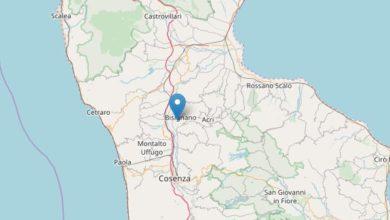 Photo of Forte scossa di terremoto nel Cosentino: ecco l'epicentro