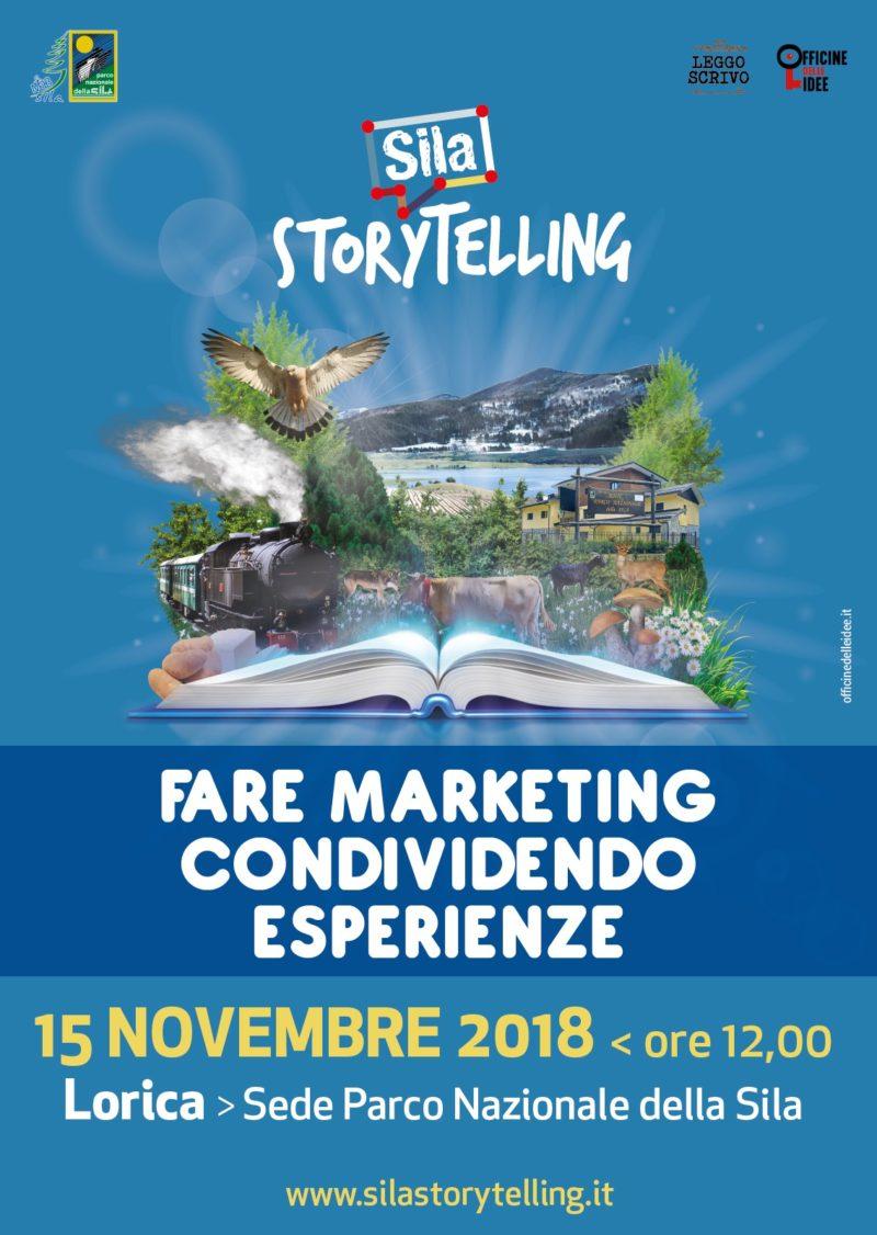 Sila Storytelling, fare marketing condividendo esperienze