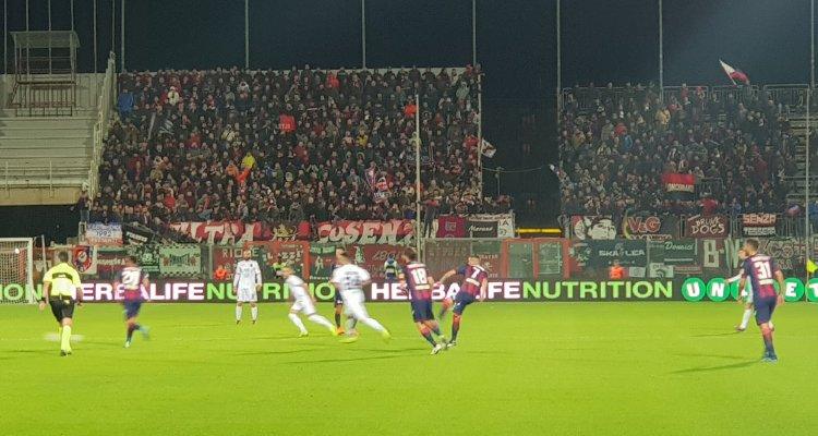Crotone-Cosenza 0-1: il tabellino