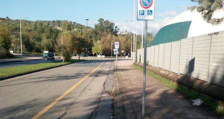 Nuovi parcheggi per i tifosi dei Lupi diversamente abili