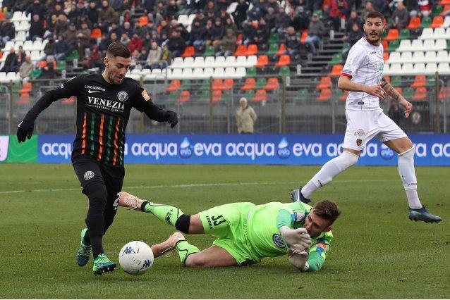Venezia-Cosenza: la fotogallery del match